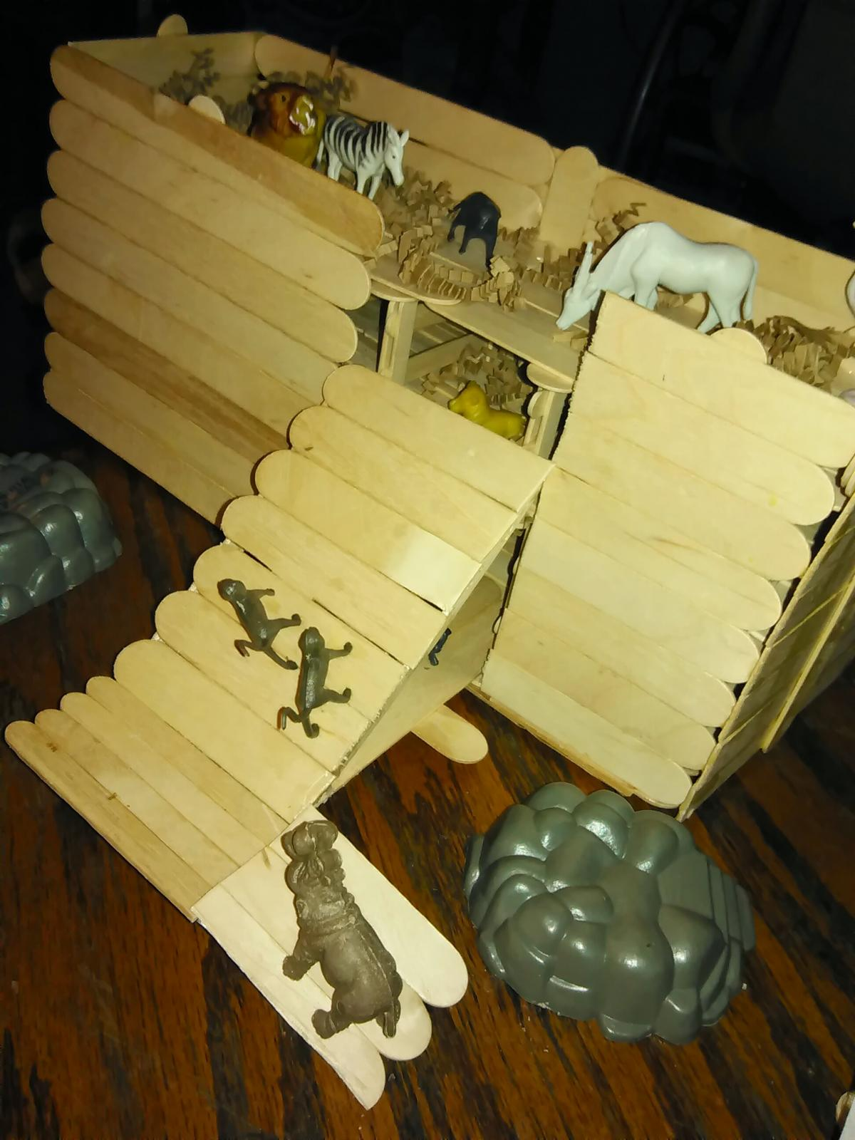 Building noah 39 s ark as a project at the nursing home for How to build a retirement home